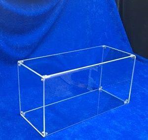 Spuckschutz Diebstahlschutz aus Plexiglas mit Seitenwand
